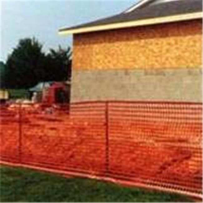 Mutual Industries 14993-50 4 x 50 Ft. Orange Safety Fence