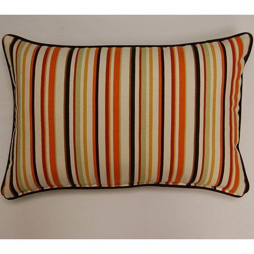 Dakotah Pillow Dockside Corded Lumbar Pillow (Set of 2)