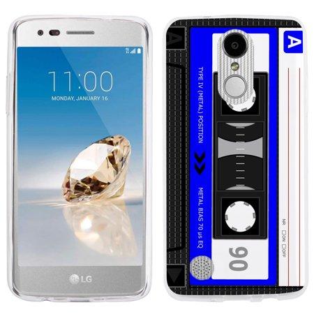 Fit LG Phoenix 3 / Fortune, One Tough Shield Slim-Fit Premium TPU Gel Phone Case for LG Phoenix 3 / LG Fortune - Cassette