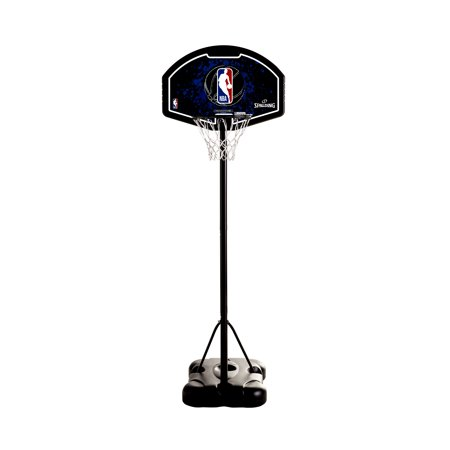 "Spalding 32"" Eco-Composite Telescoping Portable Youth Basketball Hoop"