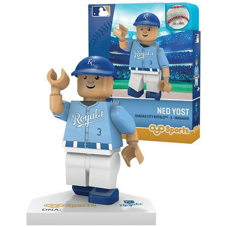 Ned Yost Kansas City Royals OYO Sports Player MLB Minifigure - No Size - Mini Baseball