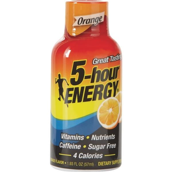5-Hour Energy, Orange, 1.93 oz