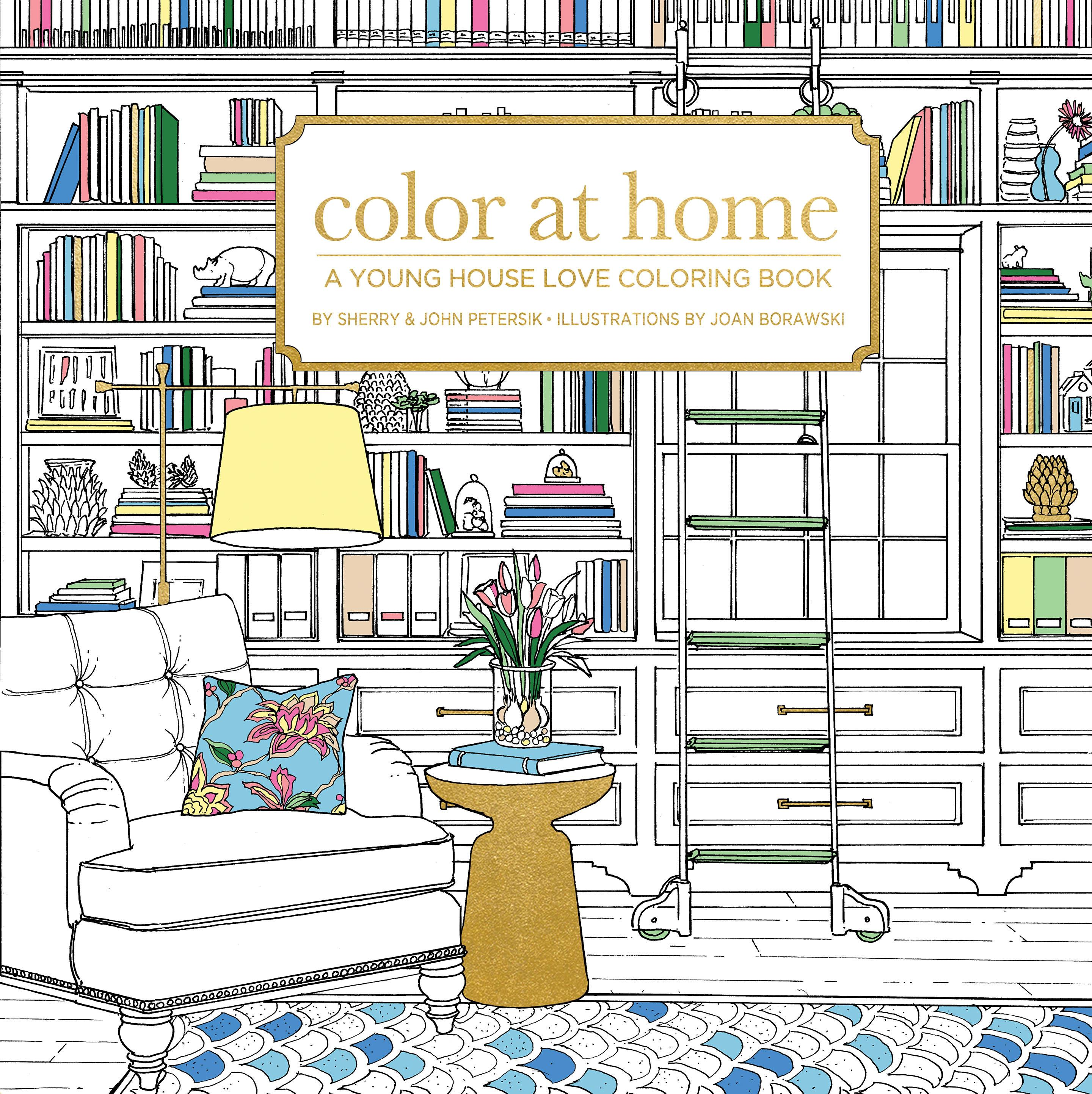 Image result for color at home coloring book