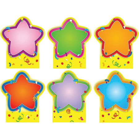 Carson-Dellosa, CDP119006, Quick Stick Star Good Work Holder, 6 / Pack, Multicolor Bee Good Work Holder