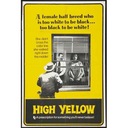 Posterazzi MOVIB27633 High Yellow Movie Poster - 27 x 40 in. - image 1 de 1