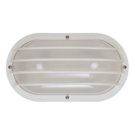 Interglobal Products Nautical Style Ceiling Wall Light Fixture White 10x5x3 7