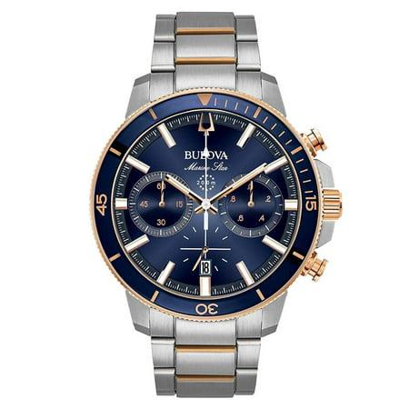 Bulova Mens Diamond Marine - Bulova Men's Marine Star Chronograph Watch