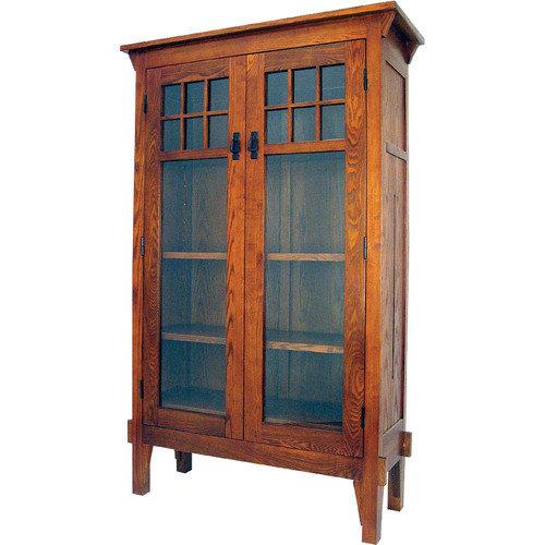 Oriental Furniture Entertainment 68'' Barrister Bookcase
