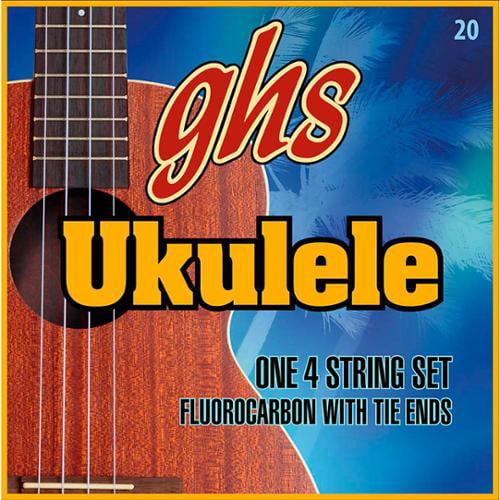GHS Ukulele Strings Hawaiian D Tuning 21-24 by GHS