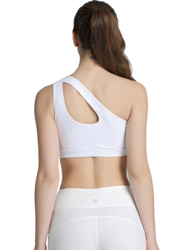 Yusky Womens All-Match Hollow Out Quick/Dry Shockproof Sports Bras