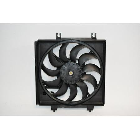 Sunbelt Radiator Cooling Fan Assembly For Subaru Impreza Forester