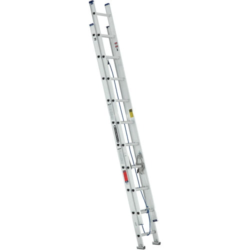 Louisville Ladder W-2328-20 20 ft. Aluminum Ladder, Type III, 200 Lbs Load Capacity by Louisville Ladder