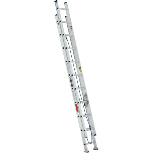 Louisville Ladder W  Ft Aluminum Ladder Type Iii 200 Lbs Load Capacity Walmart Com