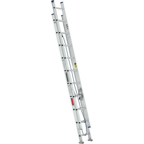 Louisville Ladder W  Ft Aluminum Ladder Type Iii 200 Lbs Load Capacity Walmart Com