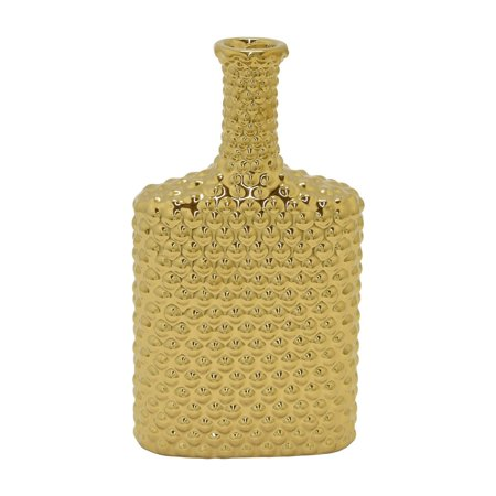Three Hands 10.5 in. Ceramic Flask Shaped Table Vase](Candy Bar Vases)