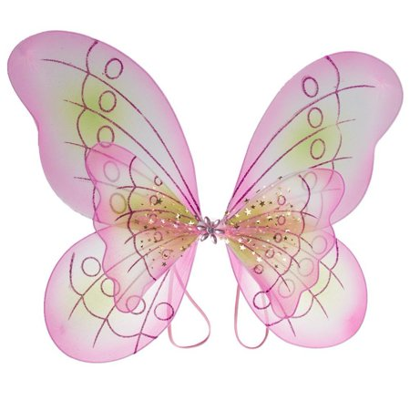 Pink Butterfly Costume Dress-up Wings, Double layered wings By - Real Butterfly Wings For Sale