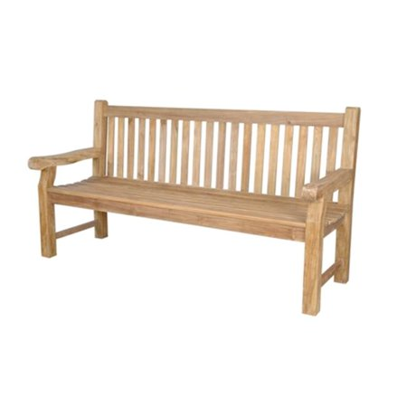 Teak  Devonshire 4-Seater Extra Thick Bench Bench Extra Thick Wood