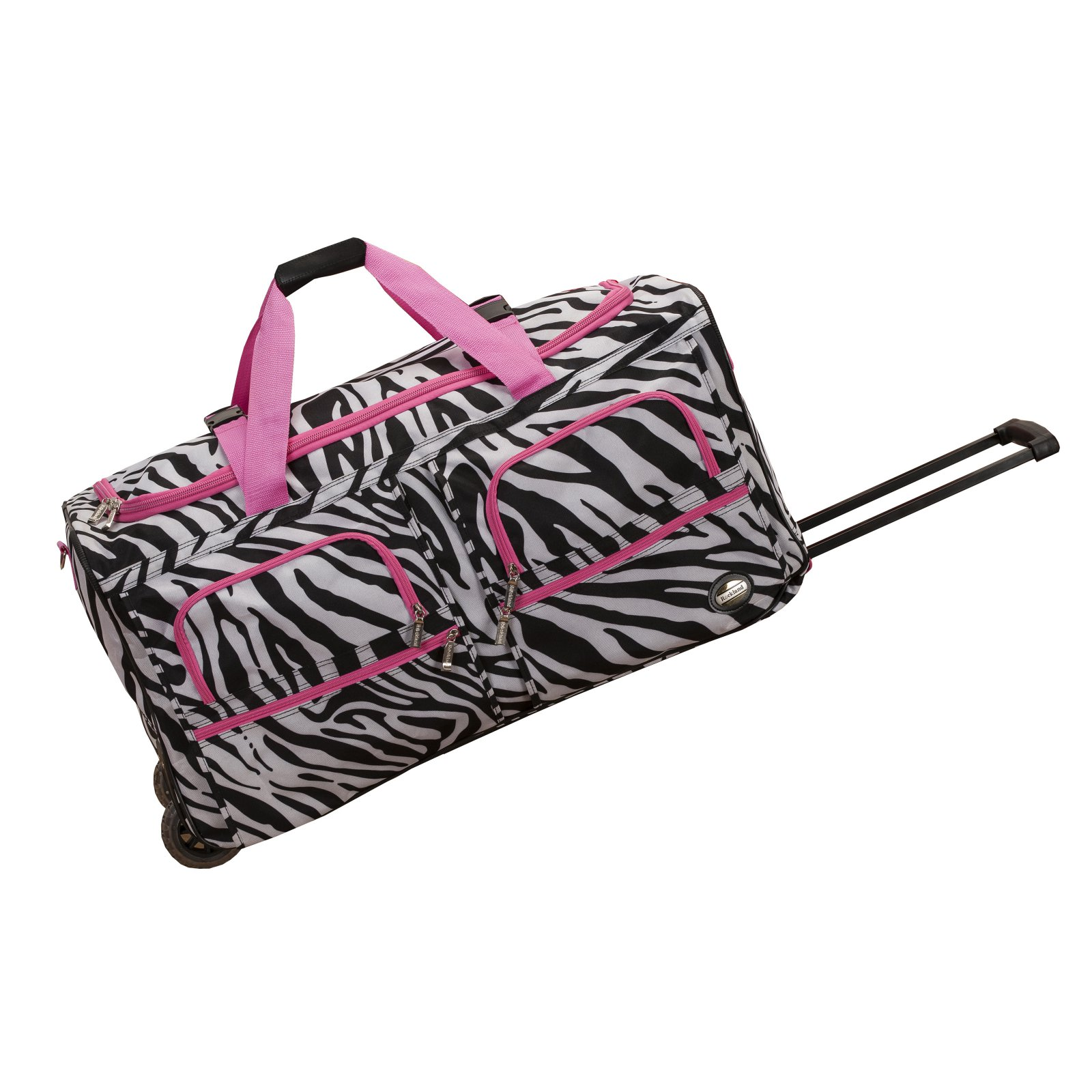 "Rockland Luggage 30"" Rolling Duffle Bag by Fox Luggage Inc"