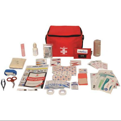 FIRST VOICE HIKE01 First Aid Kit, 87 Components
