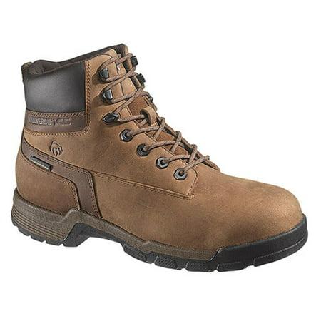 70d91ecd7f8 Wolverine Men's Gear 6-Inch Composite Toe EH Waterproof Work Boot,Brown,8.5  M US