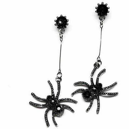 Spider Earrings Adult Halloween Costume - Spider Black Widow Halloween Makeup