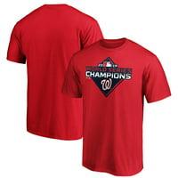 Washington Nationals Majestic 2019 World Series Champions Logo T-Shirt - Red