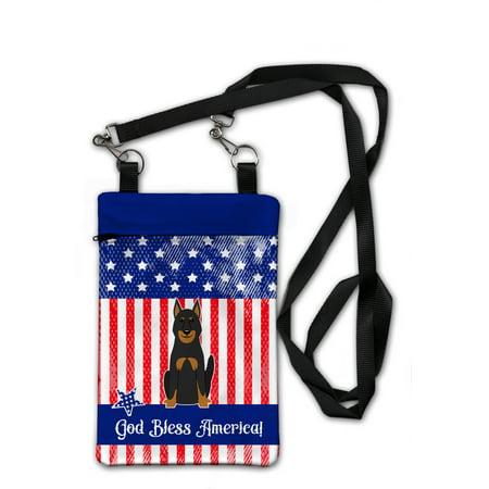 Patriotic USA Beauce Shepherd Dog Crossbody Bag Purse (Shepherds Purse)