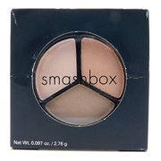 Smashbox Cosmetics Photo Op Eye Shadow Trio Multi-Flash: Naked, Crisp, Doe .097 Oz.