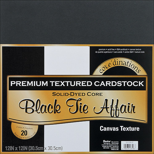 """Core'dinations Value Pack Cardstock 12""""X12"""" 20/Pkg-Soft Side - Textured"""