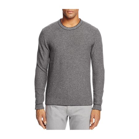 Mens Luxury Wool Cashmere (Bloomingdale's Mens Wool And Cashmere Blend Pullover Sweater raisin M )