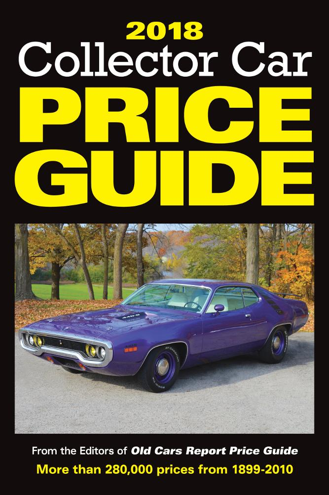2018 Collector Car Price Guide - Walmart.com