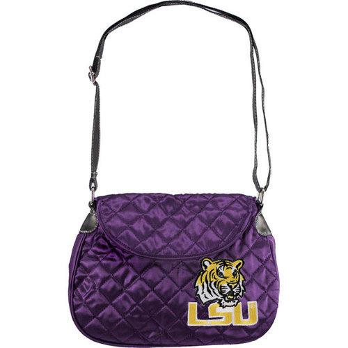 NCAA - LSU Tigers Quilted Saddle Bag