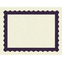 Metallic Purple Certificate