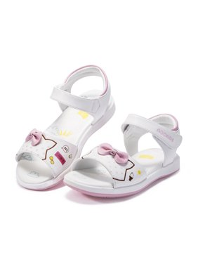 Girls Cartoon Sandals Summer Baby Anti-slip Soft Sole Shoes 4-7Y