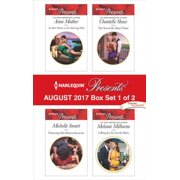 Harlequin Presents August 2017 - Box Set 1 of 2 - eBook