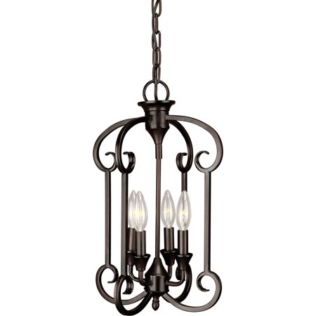 Light Foyer Pendant - Forte Lighting 7000-04 Foyer Pendant