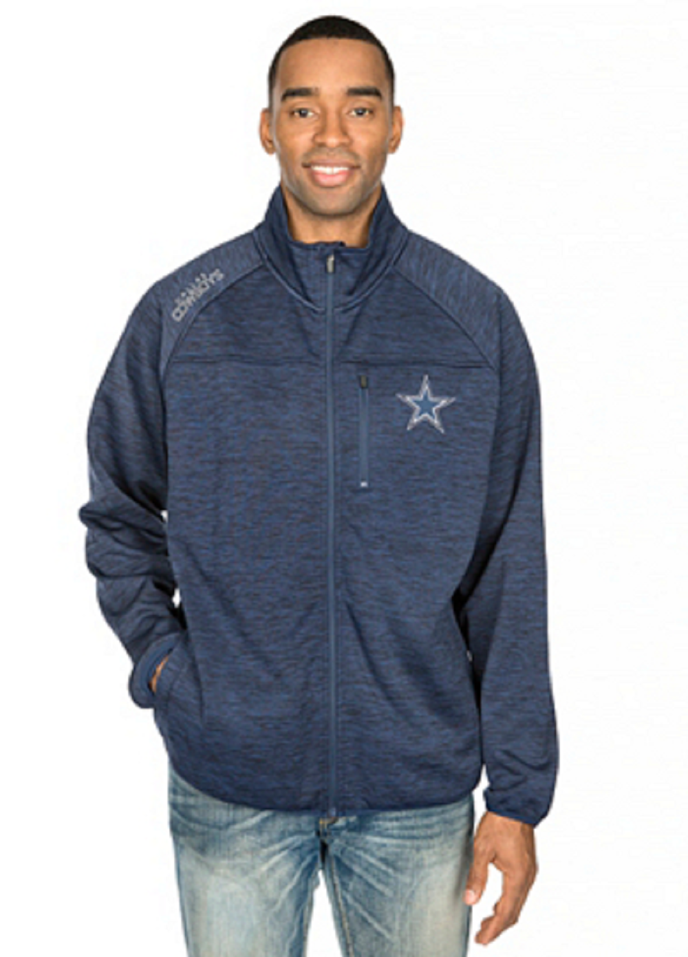 Dallas Cowboys Men's Mindset Jacket by Dallas Cowboys Merchandise