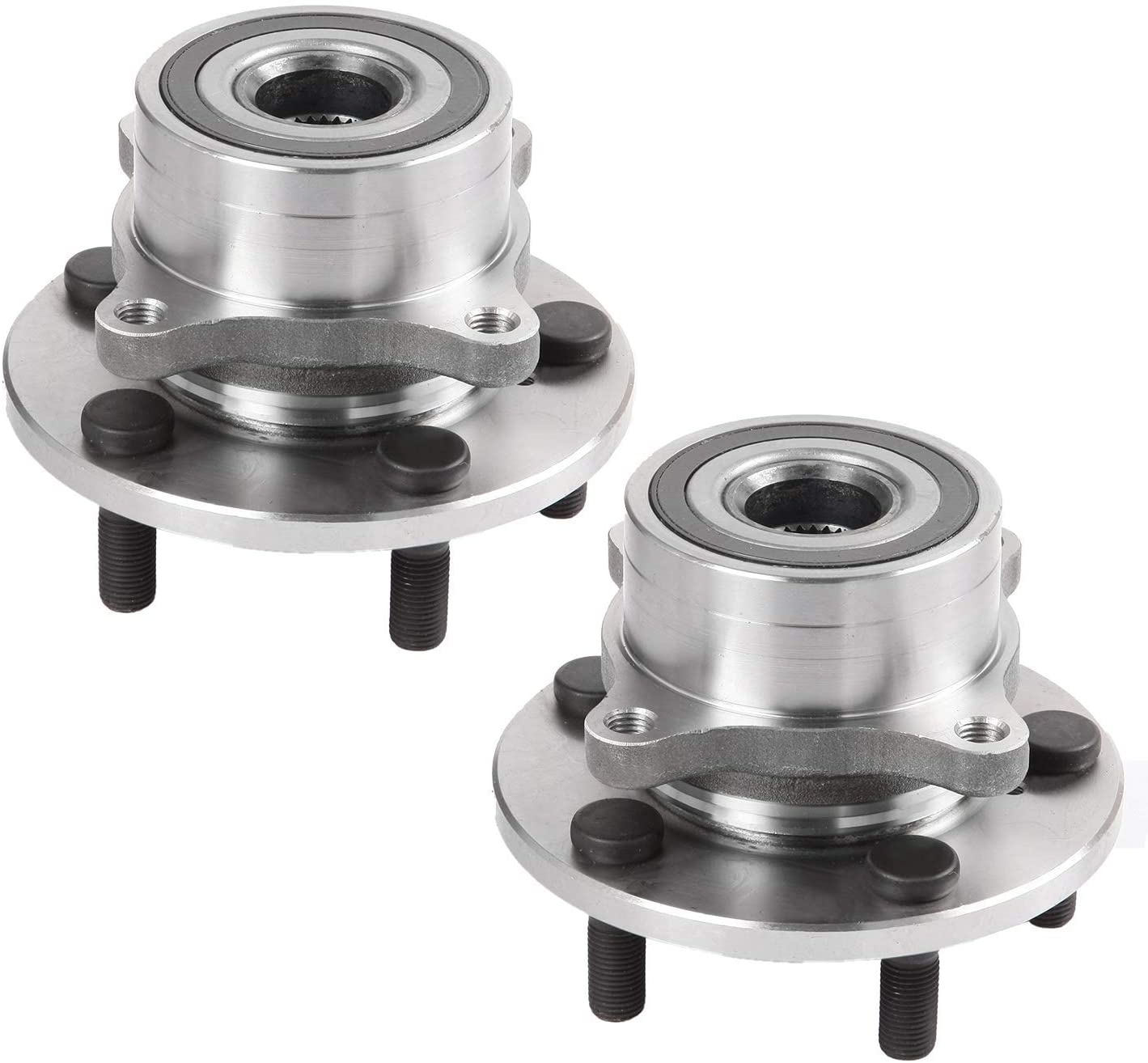 Pair 2 Front Wheel Hub & Bearing Assembly LH RH Side For