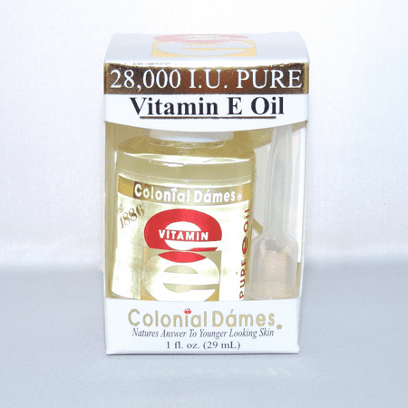Colonial Dames Vitamin E Oil 1 ounce 28000 iu