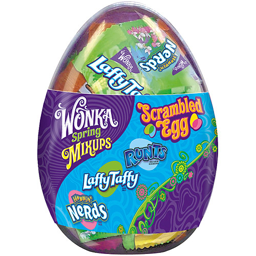 Wonka Spring Mixups Candy Scrambled Easter Egg, 6 oz