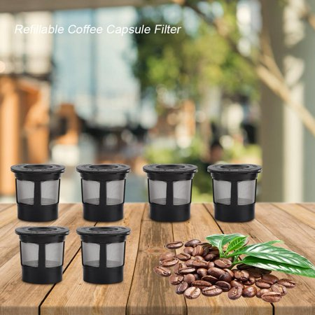 Ejoyous Plastic and 304 Stainless Steel Refillable Reusable Coffee Capsule Filters Replacement, Refillable Coffee Filter,Coffee Capsule Filter - image 3 of 8