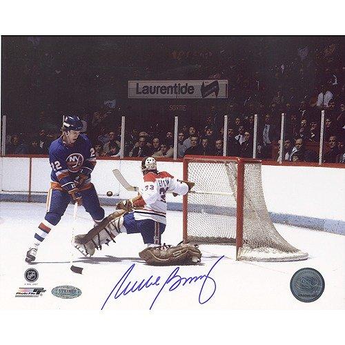 Steiner Sports Mike Bossy Shot versus Canadiens Autographed Photograph Memorabilia