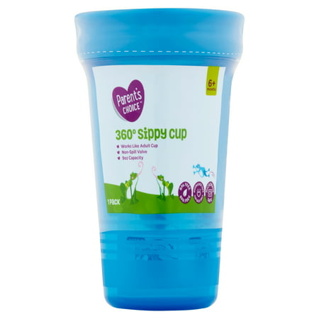Parent's Choice 360 Spoutless Sippy Cup, 6+ Months, 1 (Best Sippy Cup 6 Months)