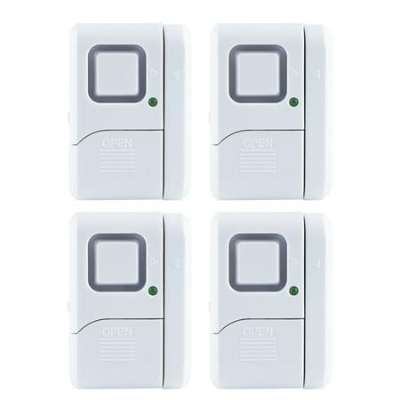 GE Personal Security Window/Door Alarm, 4 pack