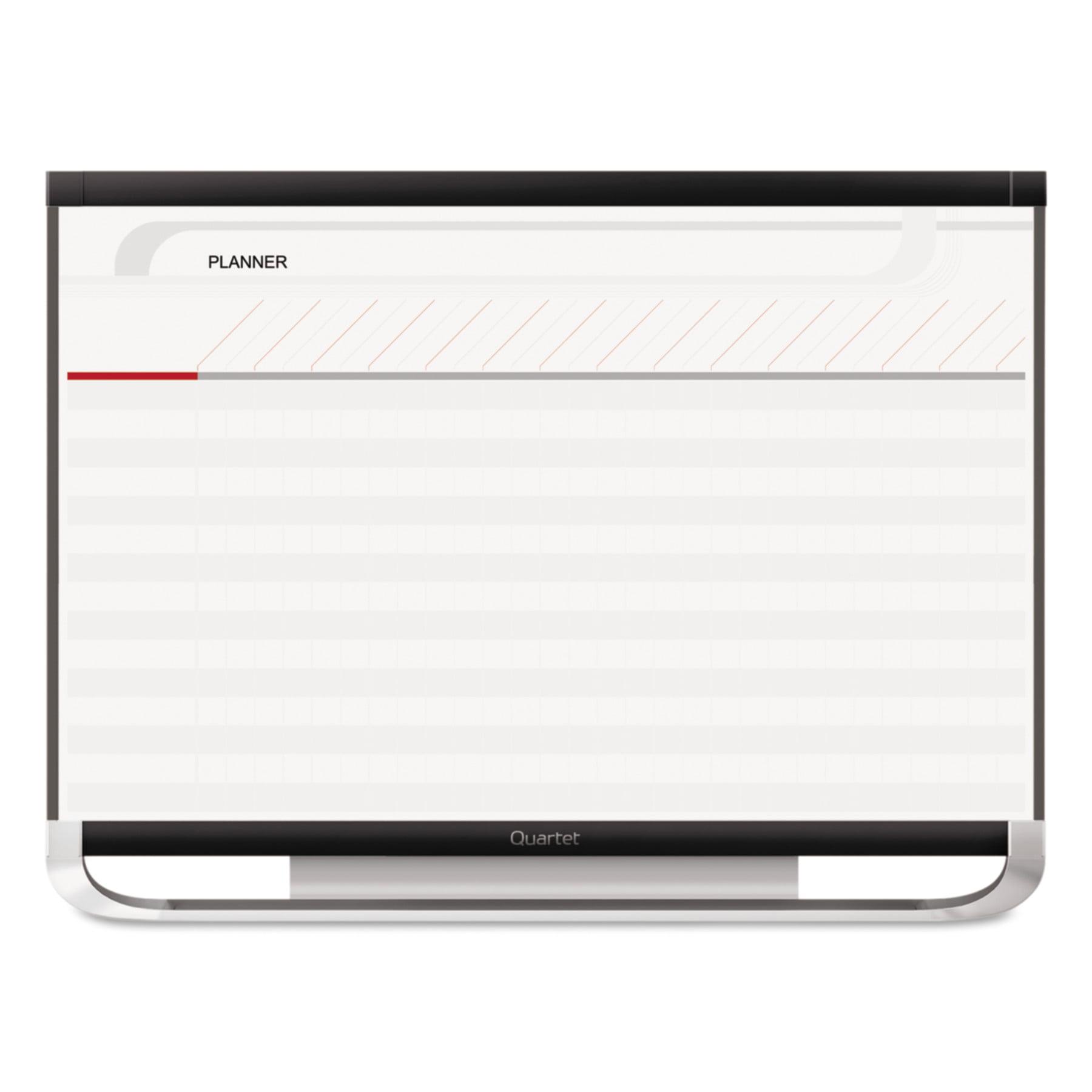 Quartet Prestige 2 Total Erase Project Planning Board, 48 x 36, Graphite Frame by QUARTET MFG.