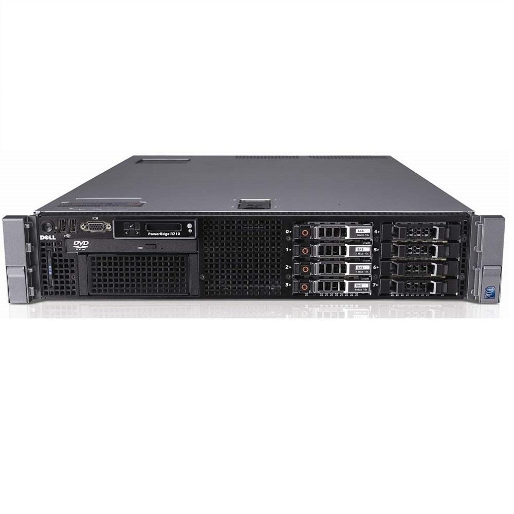 Dell PowerEdge R710 SFF 2x E5506 Quad Core 2.13Ghz 12GB 8...