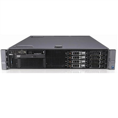 Refurbished Dell PowerEdge R710 SFF X5670 Six Core 2.93Ghz 6GB 2x 300GB 6x 1TB Perc 6/i - image 1 de 3