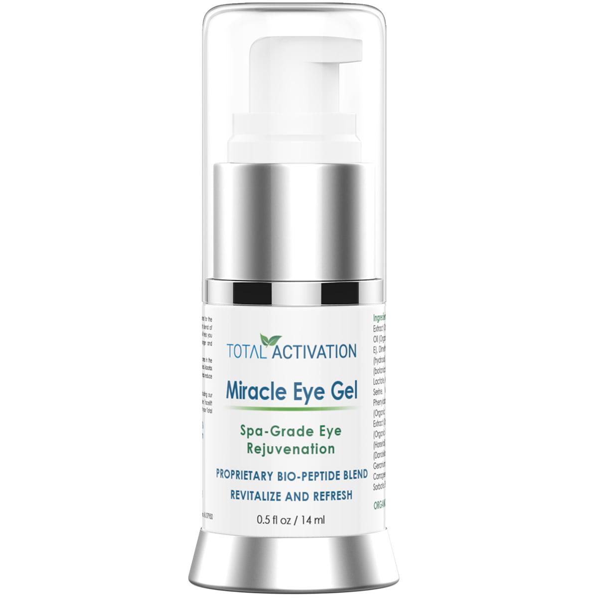 Miracle Eye Gel. Spa Grade Rejuvenation. Bio-peptides Red...