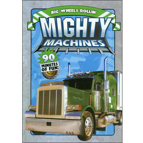 Mighty Machines #5-big Wheels [dvd] (ncircle Entertainment)
