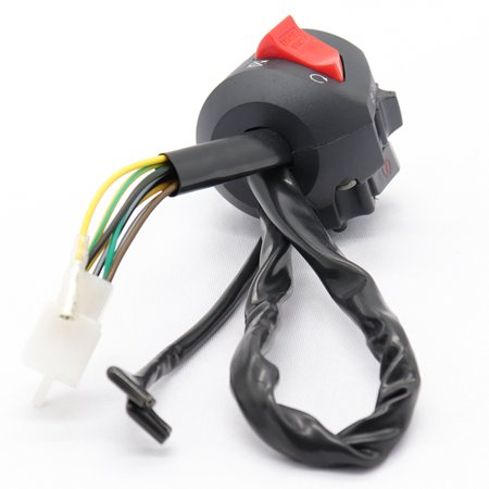 Universal Motor Switches Power Lighting Multi-function Motorbike Control Switch with Fan - image 6 of 7